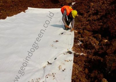 GEOTEXTILE NON WOVEN – PROYEK DEPO CONTAINER